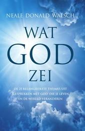 Wat God zei : de 25 belangrijkste thema's uit 'Gesprekken met God' die je leven en de wereld veranderen