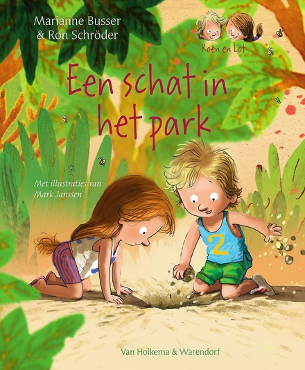Een schat in het park