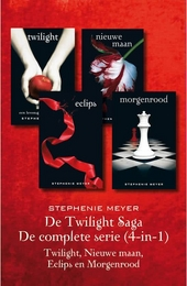 De Twilight saga : de complete serie (4-in-1) : Twilight, Nieuwe maan, Eclips en Morgenrood