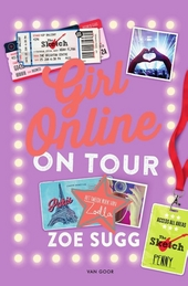 Girl online on tour