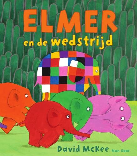 Elmer en de wedstrijd