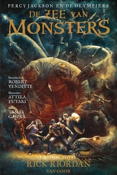 De zee van monsters : graphic novel