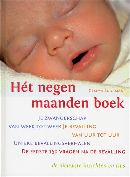 Het negen maanden boek