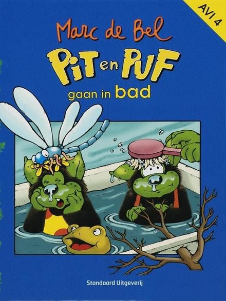 Pit en Puf gaan in bad