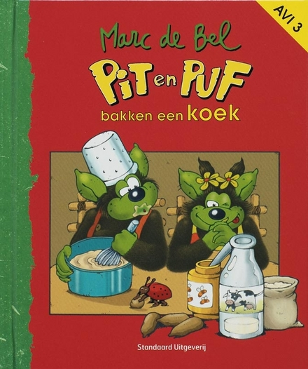 Pit en Puf bakken een koek