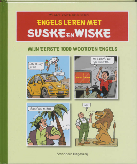 Engels leren met Suske en Wiske : mijn eerste 1000 woorden Engels