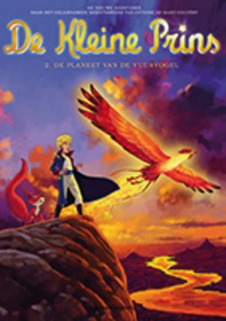 De planeet van de vuurvogel