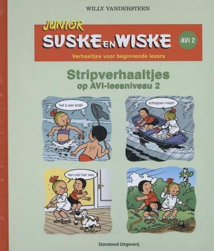Stripverhaaltjes voor beginnende lezers : AVI-leesniveau 2