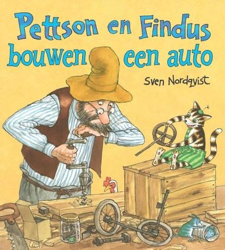 Pettson en Findus bouwen een auto