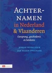 Achternamen in Nederland en Vlaanderen : oorsprong, geschiedenis en betekenis