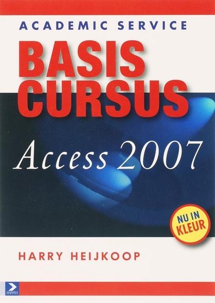 Basiscursus Access 2007