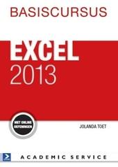 Basiscursus Excel 2013