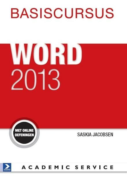 Basiscursus Word 2013