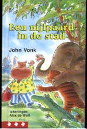 Een nijlpaard in de stad