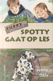 Spotty gaat op les