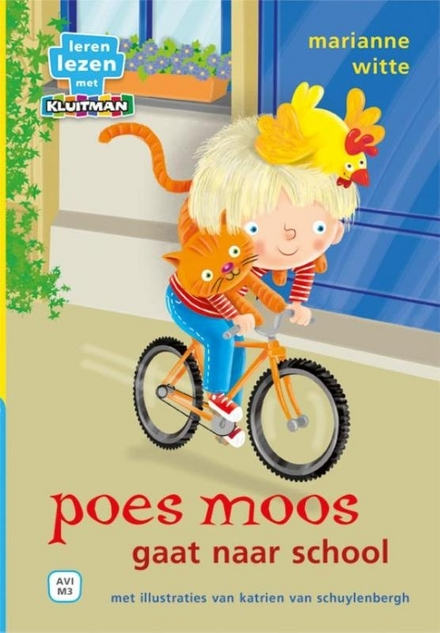 Poes Moos gaat naar school