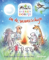 Dierendorpje in de maneschijn
