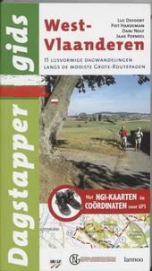 West-Vlaanderen : 15 lusvormige dagwandelingen over de mooiste Grote Routepaden