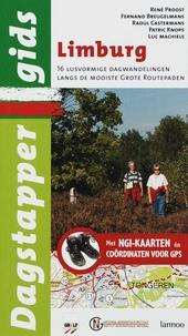 Limburg : 16 lusvormige dagwandelingen over de mooiste grote routepaden : met NGI-kaarten en GPS-coordinaten