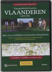 Topografische kaarten Vlaanderen en Brussel