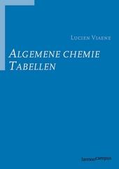Algemene chemie : tabellen