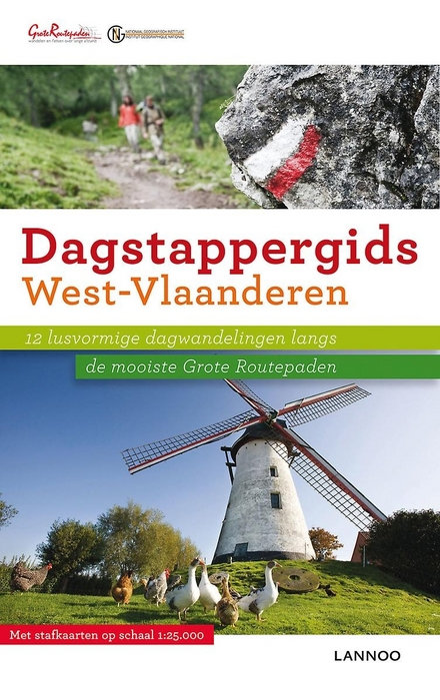 West-Vlaanderen : 12 lusvormige dagwandelingen langs de mooiste Grote Routepaden. 2