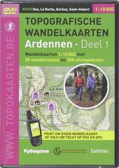 Topografische wandelkaarten : Ardennen