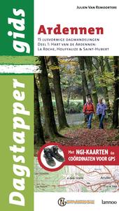 Ardennen : 15 lusvormige dagwandelingen met NGI-kaarten en coördinaten voor GPS