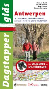 Antwerpen : 16 lusvormige dagwandelingen over de mooiste grote routepaden : met NGI-kaarten en coördinaten voor GP...
