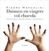Duimen en vingers vol chocola