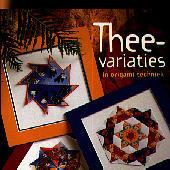 Theevariaties in origami-techniek