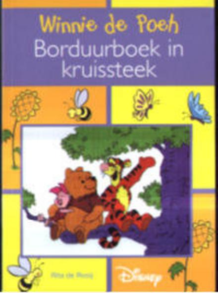 Winnie de Poeh borduurboek in kruissteek