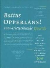 Opperlans ! : taal- en letterkunde