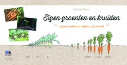 Eigen groenten en kruiden : zaaien, kweken en oogsten met succes!