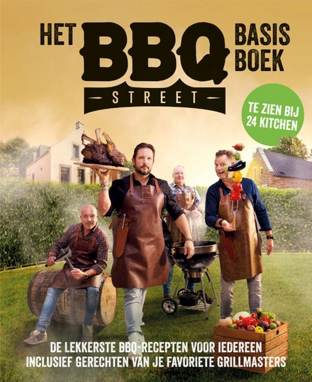 BBQ street basis BBQ boek