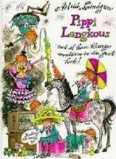 Pippi Langkous met al haar kleurige avonturen in één groot boek vol tekeningen