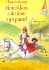 Sinterklaas zakt door zijn paard