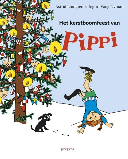 Het kerstboomfeest van Pippi