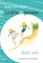 Saskia en Jeroen aan zee