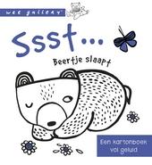 Ssst ... Beertje slaapt : een kartonboek vol geluid