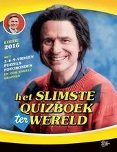 Het slimste quizboek ter wereld : editie 2016