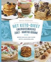 Het keto-dieet : energiesnacks, zoet, hartig gebak : meer dan 80 low-carb keto-lekkernijen