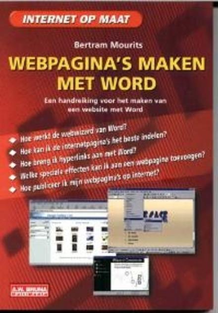 Webpagina's maken met Word