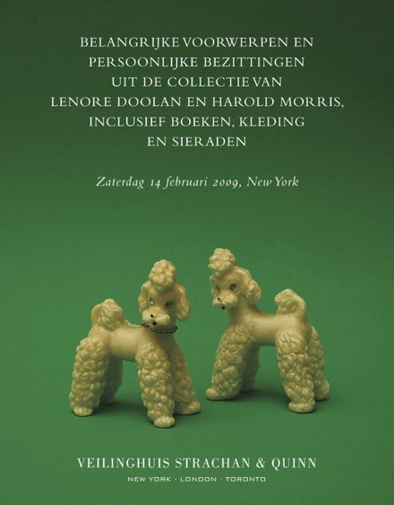 Belangrijke voorwerpen en persoonlijke bezittingen uit de collectie van Lenore Doolan en Harold Morris, inclusief b...
