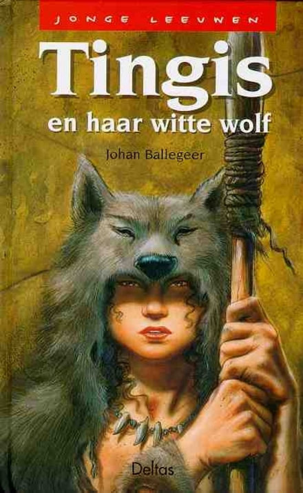 Tingis en haar witte wolf