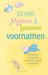 10000 moderne en klassieke voornamen