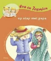 Eva en Jasmien op stap met papa