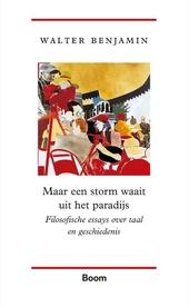 Maar een storm waait uit het paradijs : filosofische essays over taal en geschiedenis