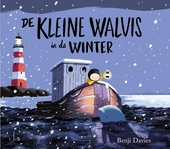 De kleine walvis in de winter