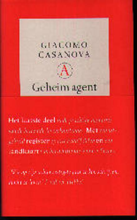 Geheim agent : memoires